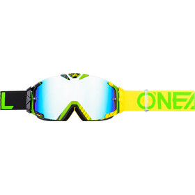 O'Neal B-30 Lunettes de protection, duplex black/hi-viz/green-radium